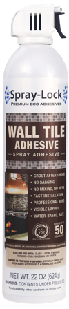 Wall Tile Adhesive by Spray-Lock