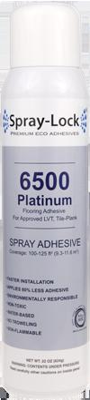 Spray Lock Luxury Vinyl Tile Platinum Spray Adhesive