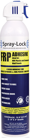 Spray-Lock FRP (Fibre Reinforced Panel) adhesive