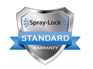Warranty for Spray-Lock products