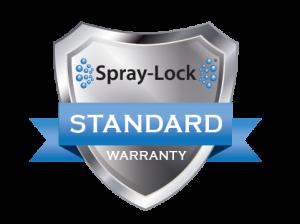 Warranty for Spray-Lock products
