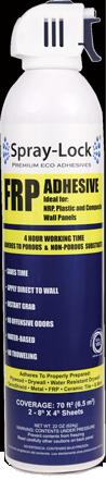 Spray-Lock FRP Adhesive